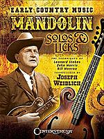 Early Country Music - Mandolin Solos & Licks