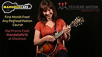 Peghead Nation partners with Mandolin Cafe to offer visitors a first month free, or $20 off an annual subscription, when they sign up for any course on PegheadNation.com.