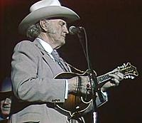 Bill Monroe in concert in Denver, February 19, 1986