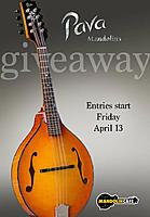Pava A5 Pro Mandolin Giveaway