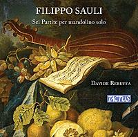 Sauli: Six Partitas for Solo Mandolin, by Davide Rebuffa