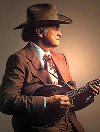 Bill Monroe's Opry performance includes Blue Yodel No. 7.